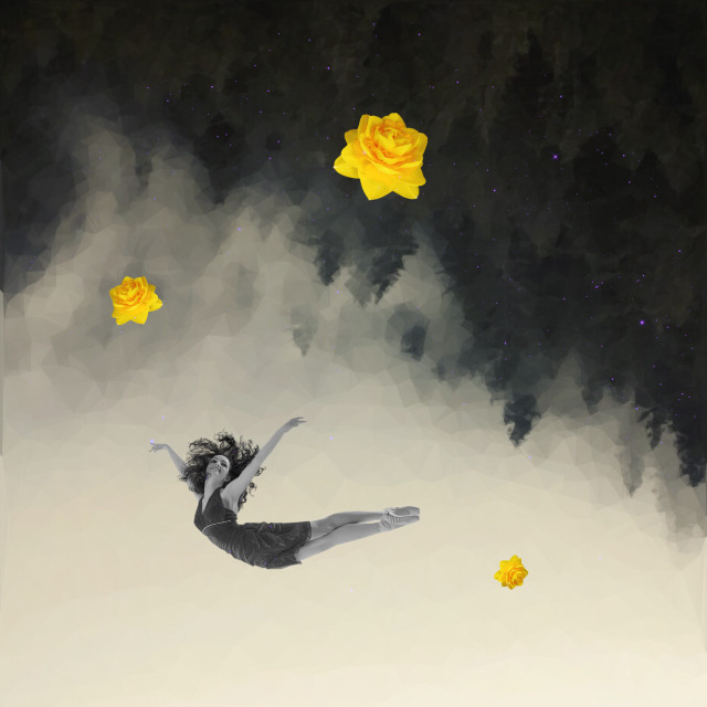 Color me yellow  #myedit #polygon #upsidedown #flowers #freetoedit