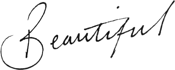 Word Tumblr Beautiful Script Cursive