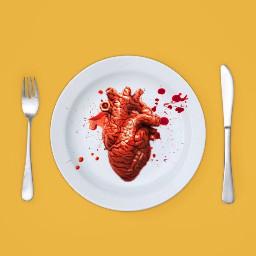 heart blood freetoedit