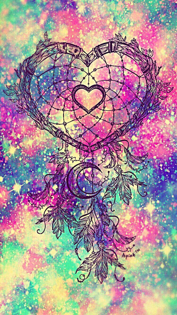 Heart Dreamcather Galaxy Interesting Art Dreamcatcher