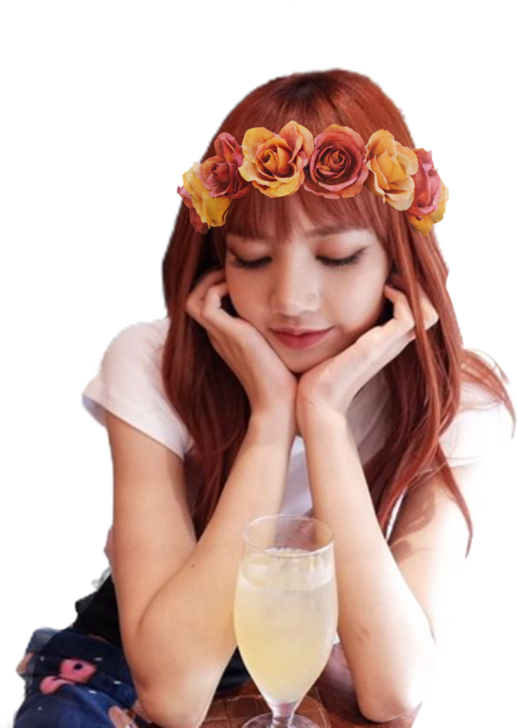 Blackpink lalisamanoban lisa flowercrown pretty blackpi report abuse izmirmasajfo