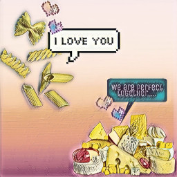 stickerremix iloveyou macncheese macaroni cheese freetoedit