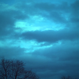 freetoedit morningsky skylovers blue cloudshapes