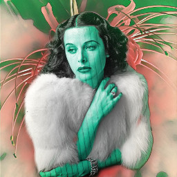 echomagetohedylamarr homagetohedylamarr madewithpicsart pictureoverlay greenmagiceffect freetoedit