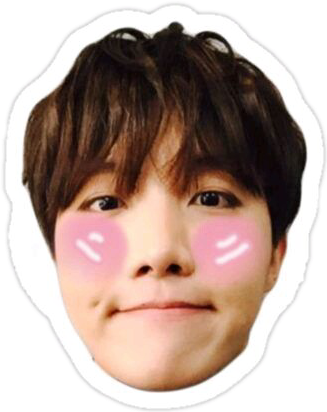 Sticker Bts Jhope Hope Hoseok 249763108020212 on Weather Cut Outs
