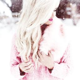 pink sparklemask freetoedit snowmask