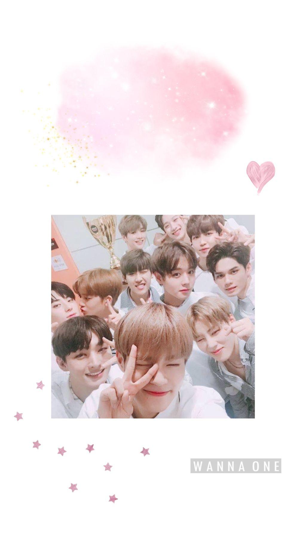 Wannaone Korea Kpop Fancy Cute Funny Love Wallpaper