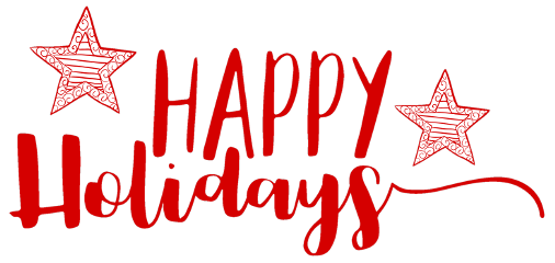 happyholidays text red freetoedit