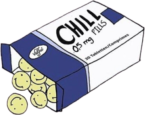 Chill pill pills draw drawing tumblr asthetic sad sad for How to draw a pill