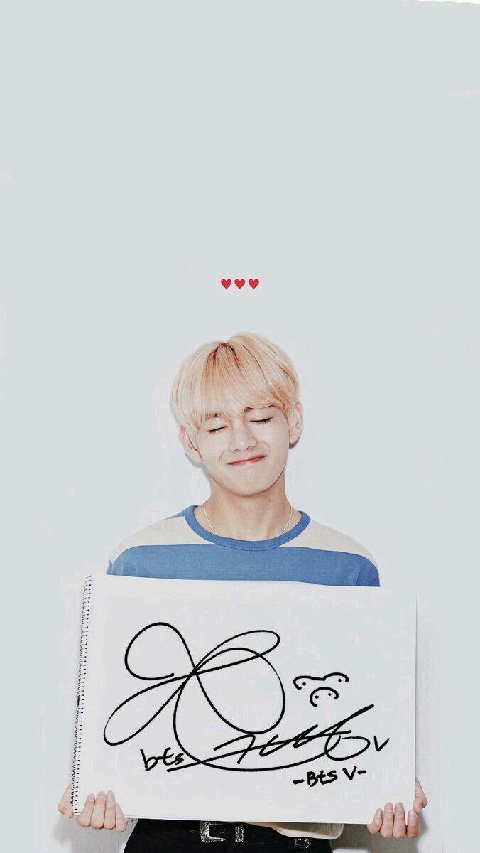 Bts Kim Taehyung Wallpaper Adesive