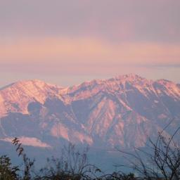 myphoto pinklight mountains nature freetoedit