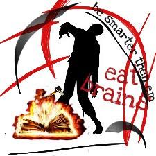 brain books zoombie fair burn