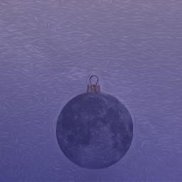 christmasdecorationremix freetoedit moon universe