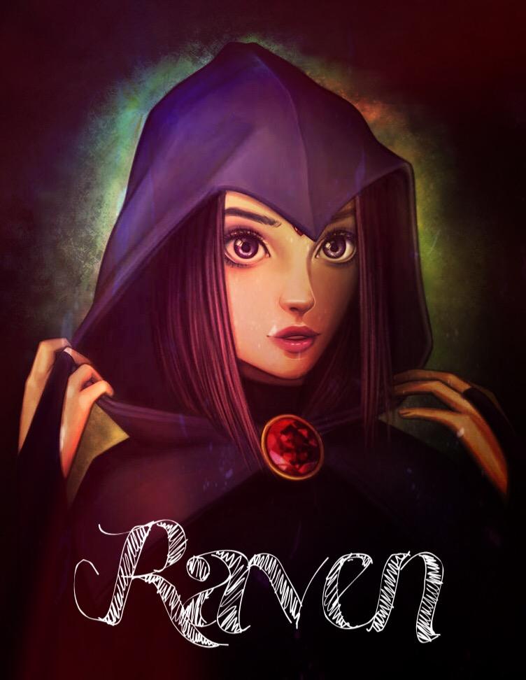 Raven  Freetoedit Raven Teentitans Fanart-4245