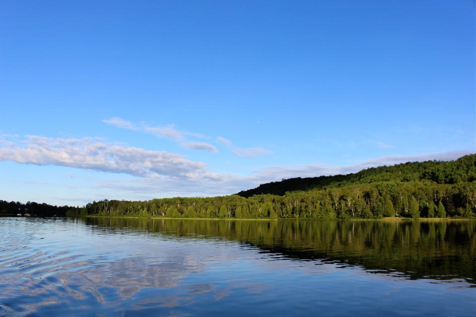 #pclandscape #landscape #freetoedit #myphoto #landscapephotography #reflection#lake #water #trees