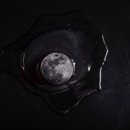 madewithpicsart edited surreal moon