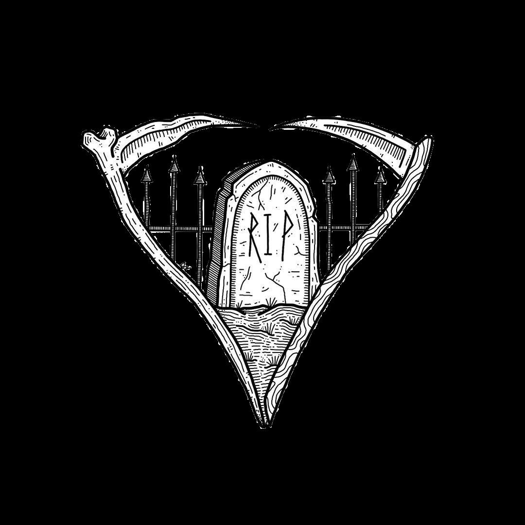 Tumblr Cemetery Coffin Sticker By Verena Schander