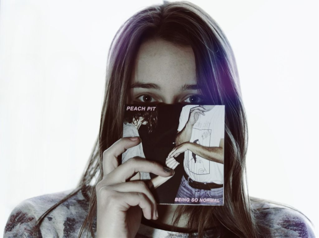 I was so happy when I got this CD🙆♀️ I forgot to ask for an autograph😅😍  #portrait #selfportrait #people #girl #CD #peachpit #music #beingsonormal #light #lightmask #haveaniceday