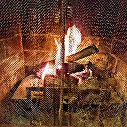 pcfireplace fireplace freetoedit winterishere december2017