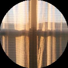 window brown curtain drape circle freetoedit