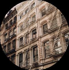 building windows brown circle aesthetic freetoedit