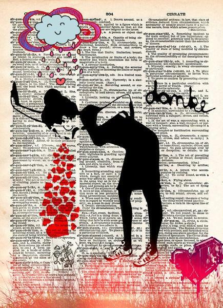 #lovesick #heartbreak#banksy #graffitiart