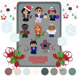WinterColors StrangerThings christmas