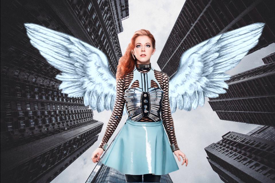 #eclindseystirling #lindseystirling #freetoedit #remix #wings #comic #angel #icon