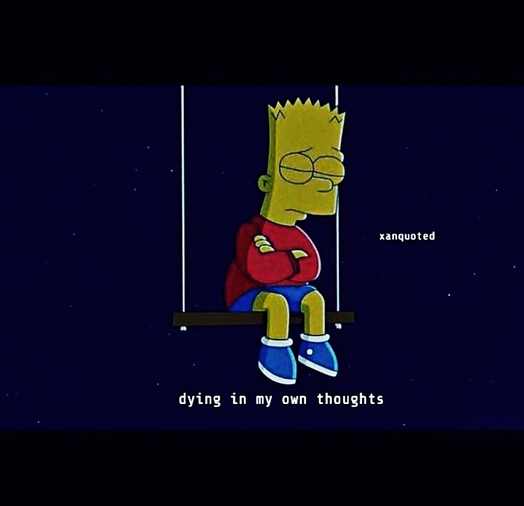 Freetoedit Remixit Dying Sad Simpson Simpsons