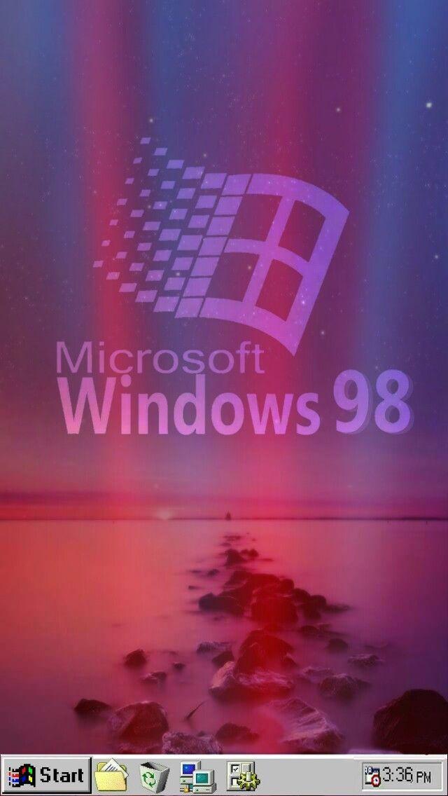 Vaporwave Windows95 Wallpaper Freetoedit