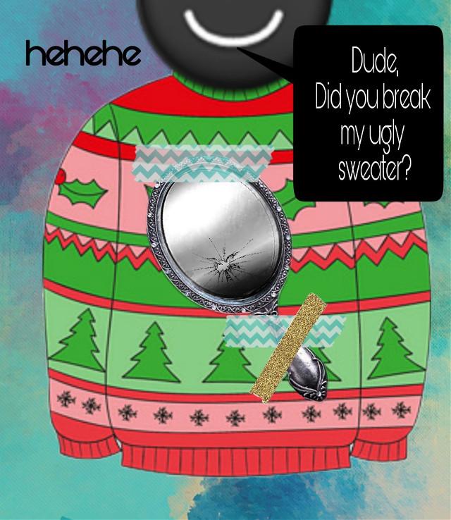 #uglysweater #uglychristmassweater #lol