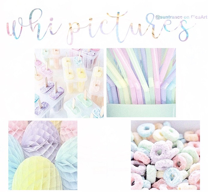 """I'm restarting my feed and starting a new and organized theme, btw this whi theme is """"pastel rainbow"""" 💛"""