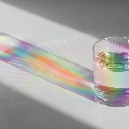 freetoedit rainbow glass water remixit