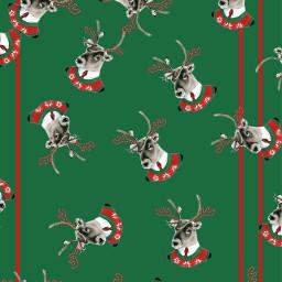 wallpaper madewithpicsart cute green reindeerstickerremix freetoedit