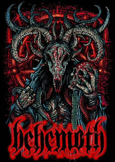 Behemoth Devil Art Wallpaper Behemoth Devil Art Wallpap