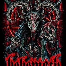 behemoth devil art wallpaper