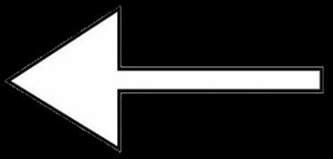 point arrow white black blackandwhite