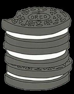 oreo oreos icon sticker overlay freetoedit