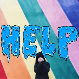 freetoedit help rainbow girl problems