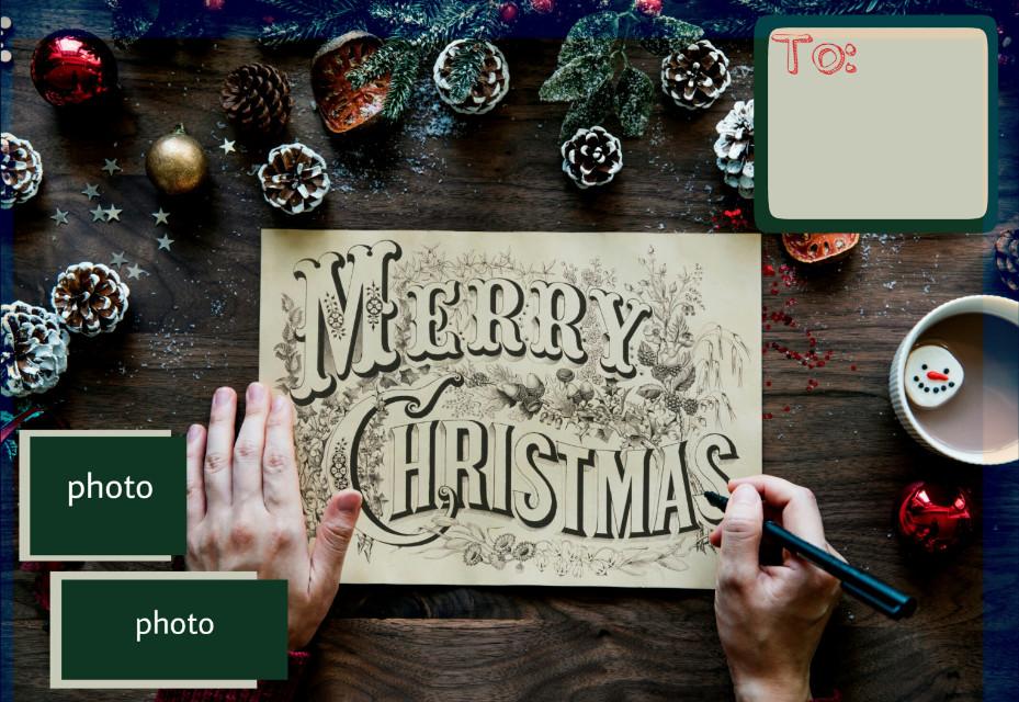 #merrychristmas #christmasdecoration #greetingcard #l4l #lfl #tfl #enjoyedit #xmascard #feliznavidad