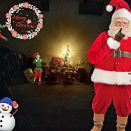 christmaseve2017 santapic santainmyhome feliznavidad🎅 lifeisfood