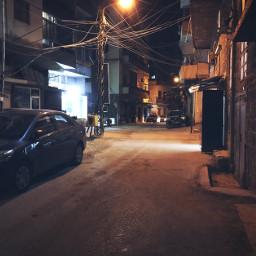 night nightphotography street iphone7
