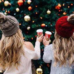 freetoedit christamas christmasgirl merrychristmas cofee