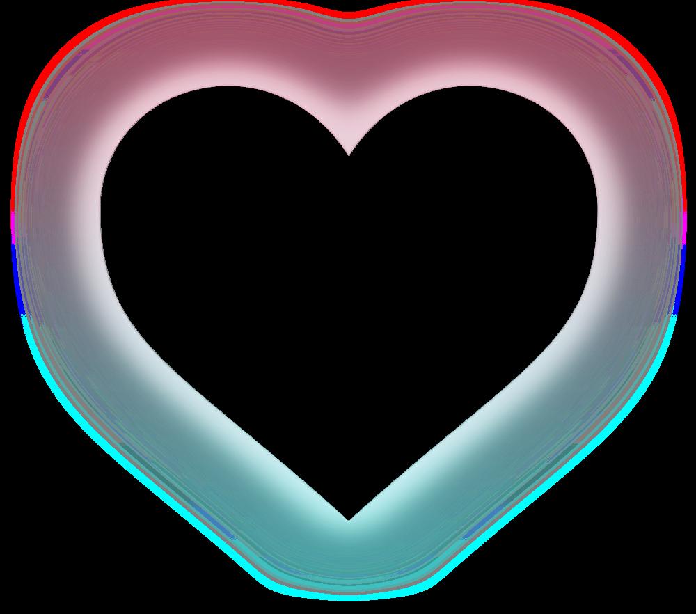 heart hearts kawaii tumblr ftestickers Heart and Flowers Clip Art Black and White Modern Flower Heart