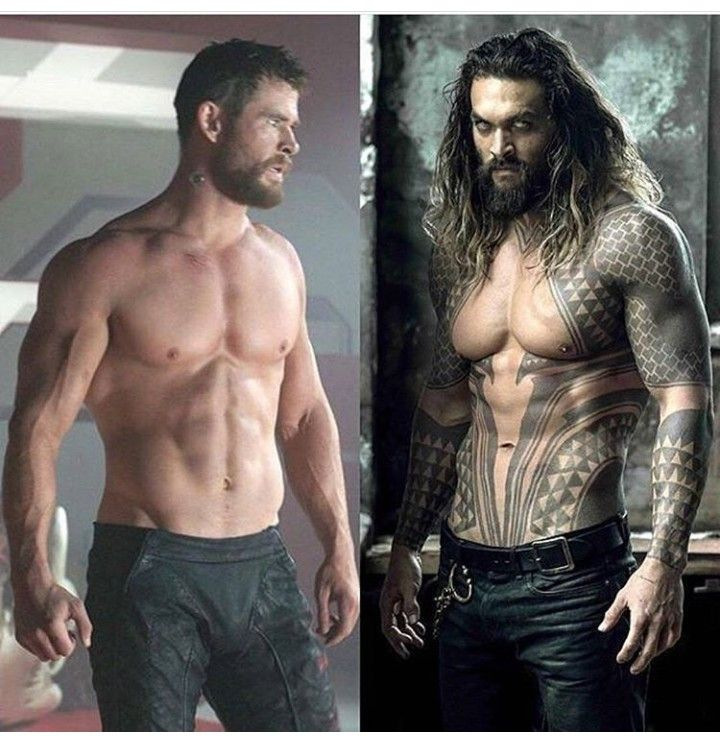 Chris Hemsworth And Jason Momoa = Thor Vs Aquaman