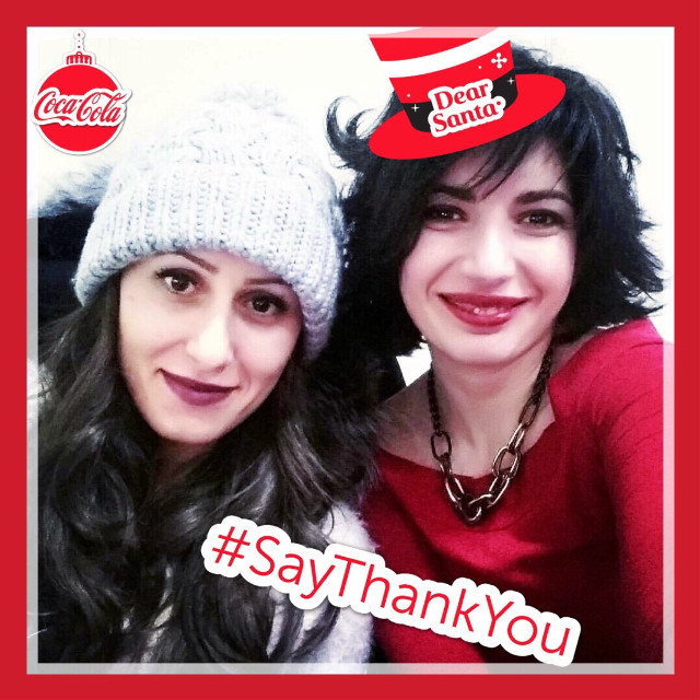#saythankyou with #cocacola #friendship #happymoments