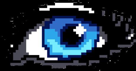 scpixel pixel eyes eyescolor blue freetoedit