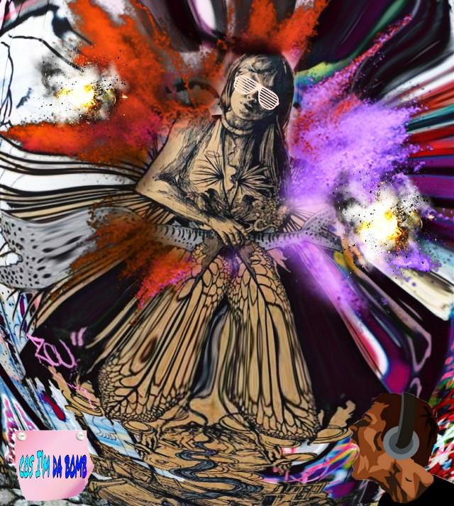 #swoon#graffitiart bottom #screaming and #postit sticker via @victorynsurrender