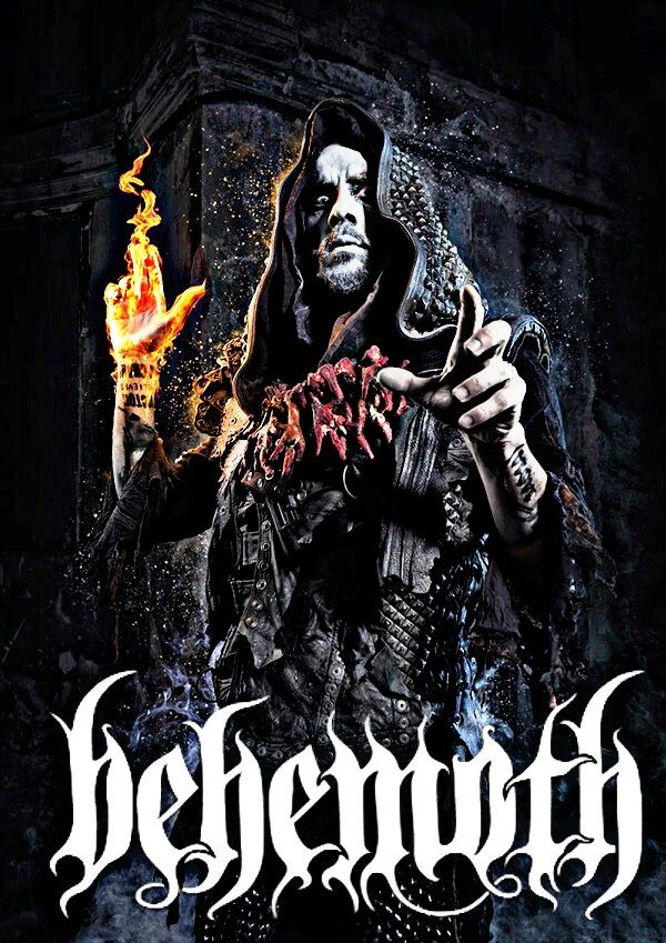#behemoth #blackmetal #nergal #heavymetal Behemoth black death metal band nergal