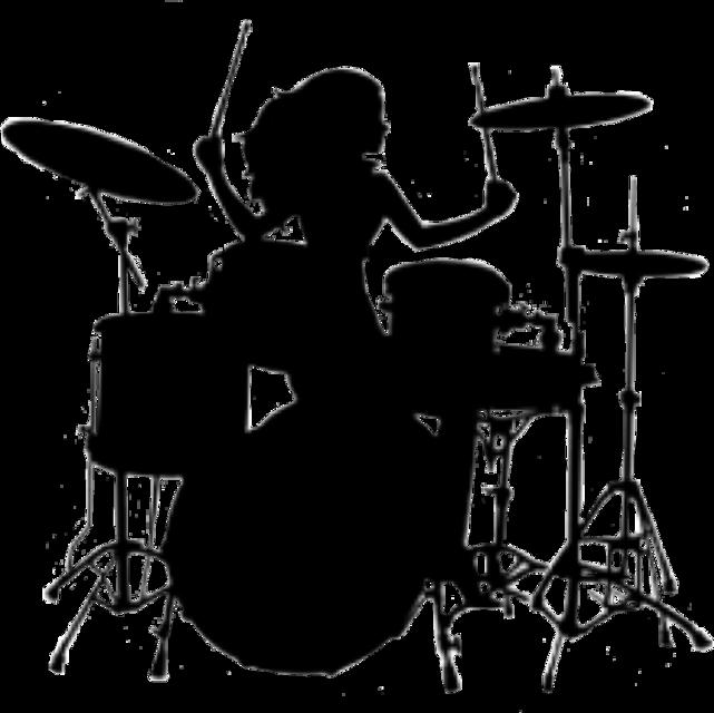 #drummer #drummers #drummersilhouette #silhouette #drumming #drums #natnat7w #sticker #musician #music #woman #freetoedit
